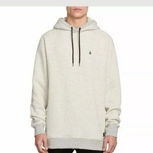 Volcom hoodie sweatshirt hand pockets new XL Coder